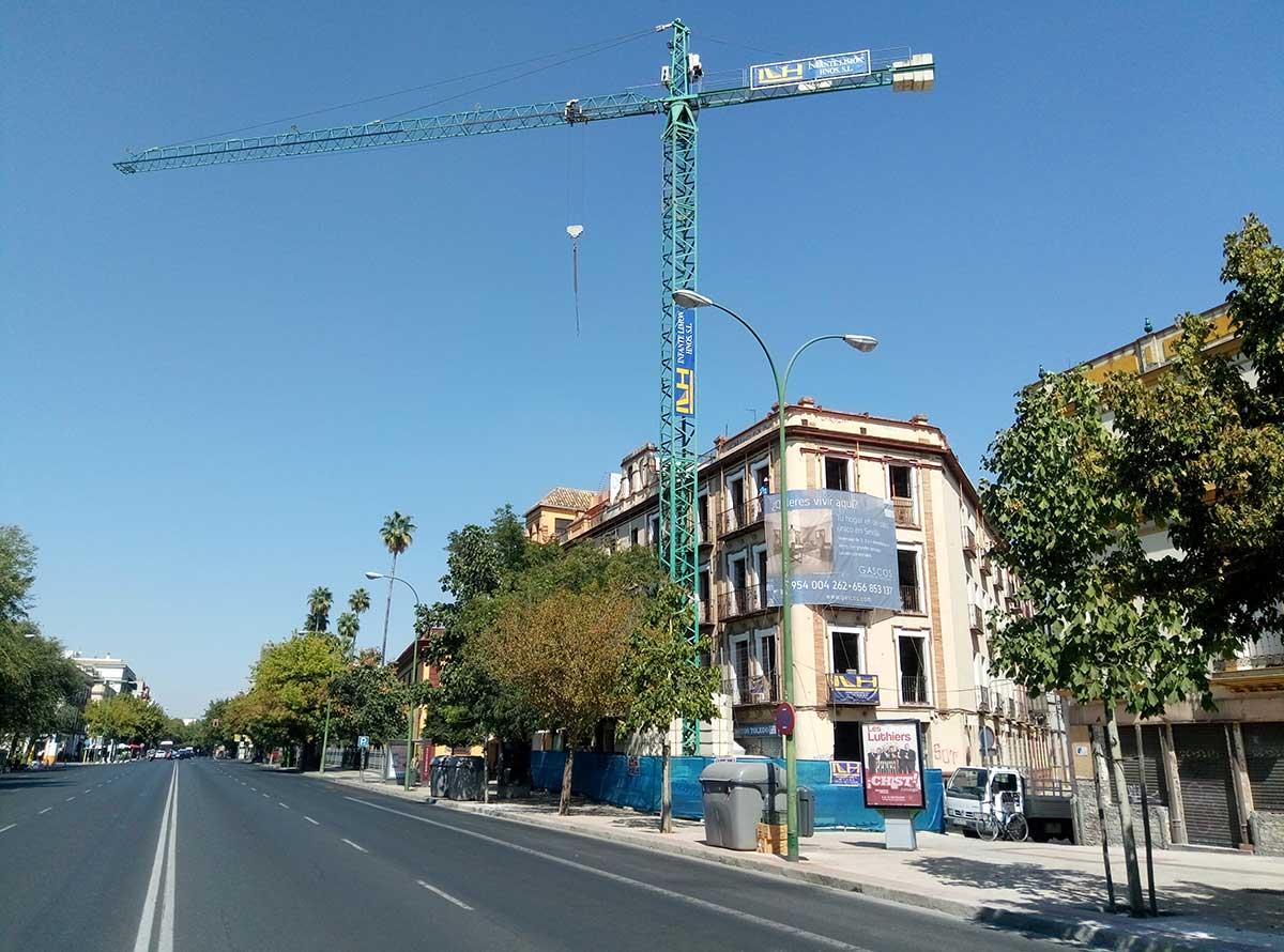 Constructora para reformas en sevilla for Oficina pelayo sevilla