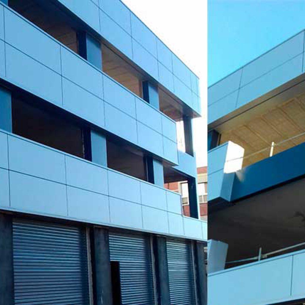 Edificio de oficinas y naves en pol gono pisa mairena del aljarafe constructora en sevilla - Obra nueva mairena del aljarafe ...