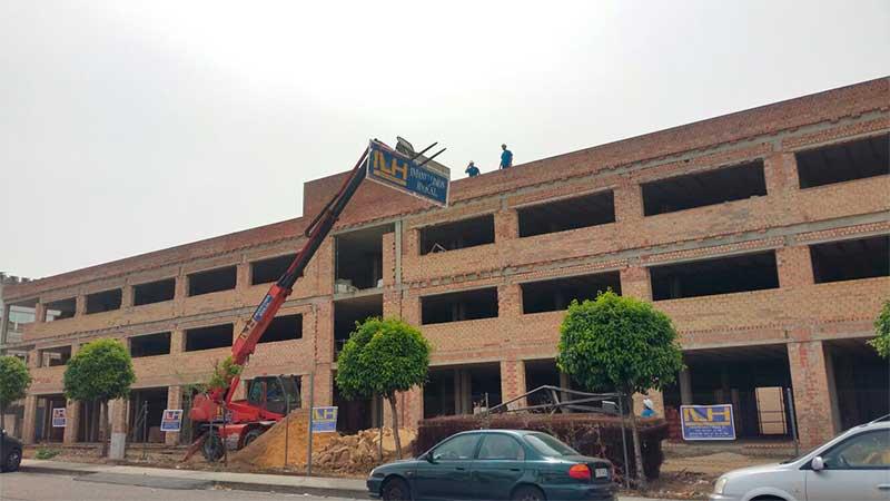 Obras poligono pisa mairena constructora en sevilla - Muebles poligono pisa ...