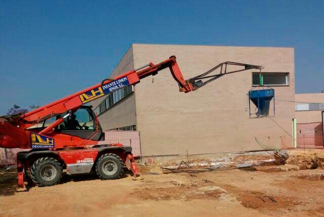 Ampliaci n de 4 aulas en el ceip talhara de benacaz n - Constructoras en sevilla ...
