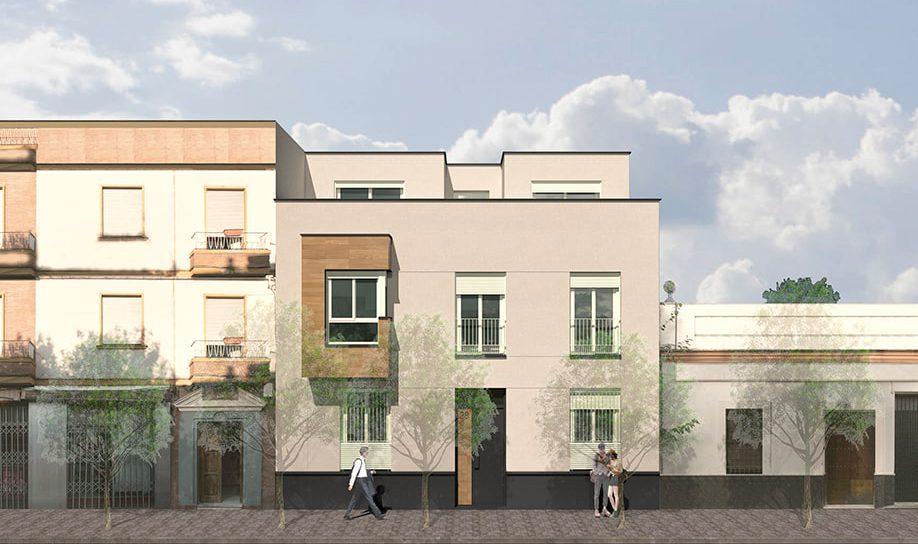 viviendas obra nueva triana barrio leon