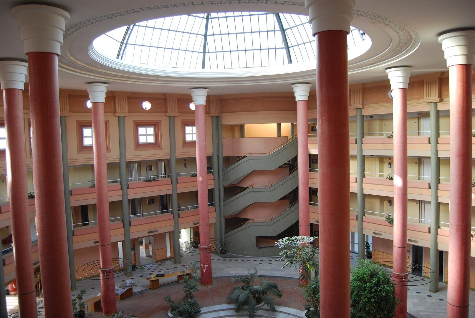constructora reforma hoteles
