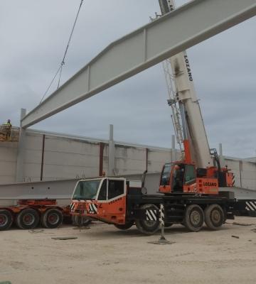 Ejecución de obras de nueva planta de edificación de nave industrial de uso terciario (Paradas – Sevilla)