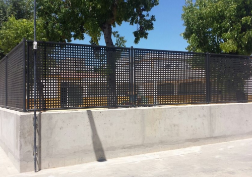 Cubiertas, Cerramiento y Saneamiento del IES Azalea de Camas (Sevilla)