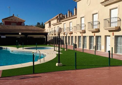 Climatización y otras obras de mejora del complejo Interpass Golf Playa Country Club (Islantilla)