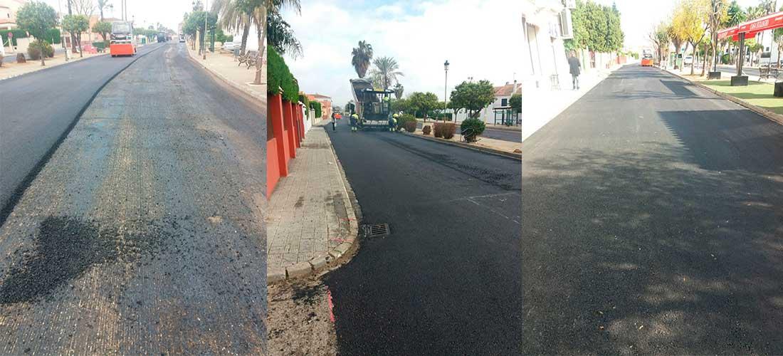 Reparación y conservación de viales y espacios públicos en Villanueva del Ariscal (Sevilla)